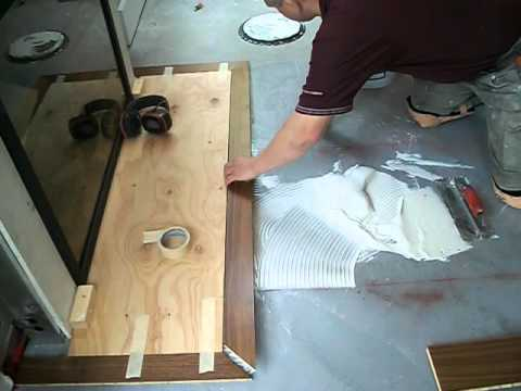 Installing Prefinished Hardwood Floors How To Spread Glue Youtube