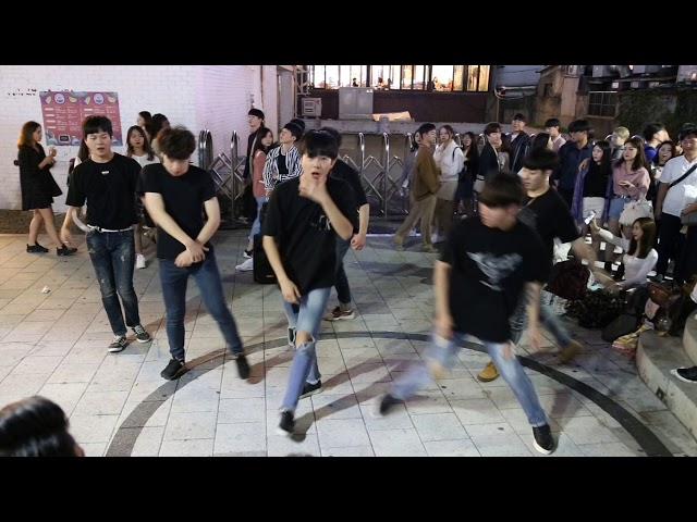 JHKTV] ???? ??hong dae k-pop dance ZHED Beautiful Night(???? ???)