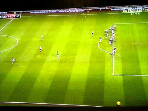 Sunderland Vs Man United 1-0 1st goal Capital 1 Cup Semi-Final