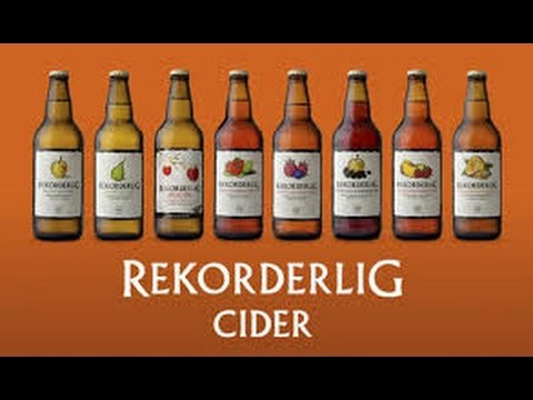 Rekorderlig Mango Raspberry Cider 4%