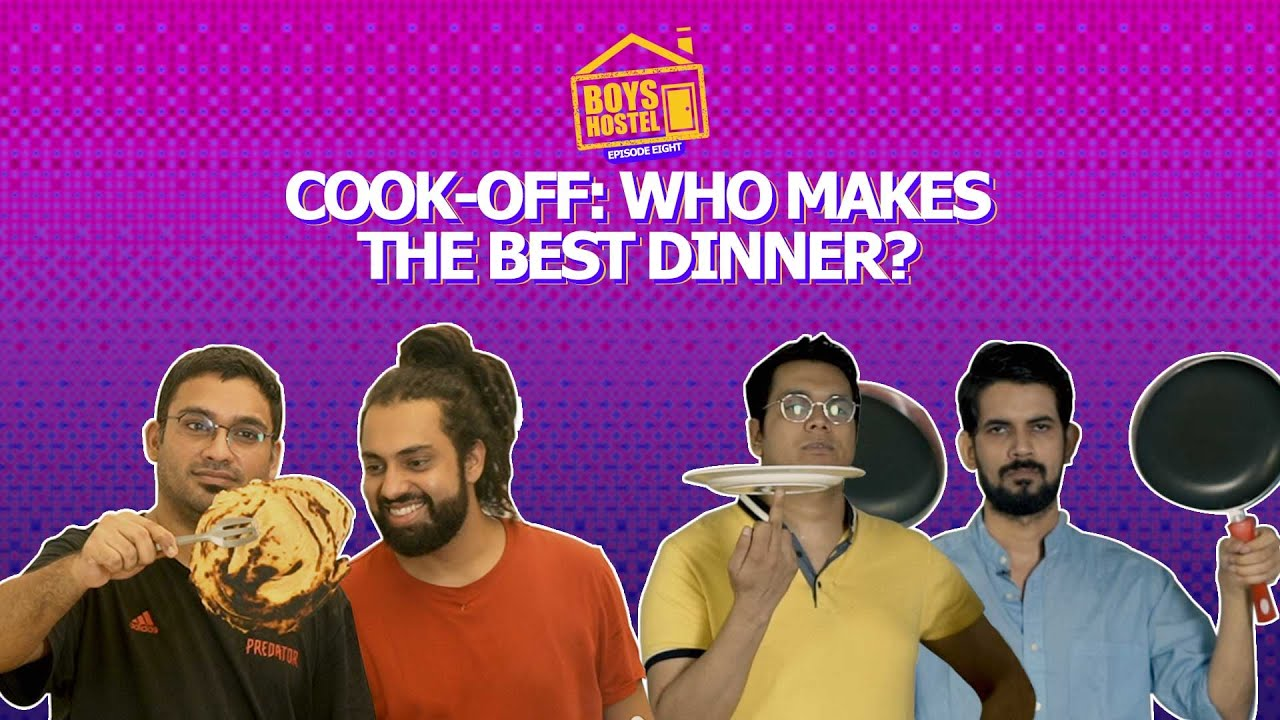 Cook-Off: Who Makes The Best Dinner? | Boys Hostel Episode 8 | Ok Tested