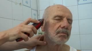 Makine ile 3 numara saç traşı ve sakal traşı nasıl yapılır?(Amatör)
