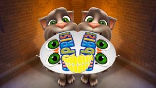 Говорящий кот Том | игра говорящий кот том | интересные блюда | интересные моменты  P2