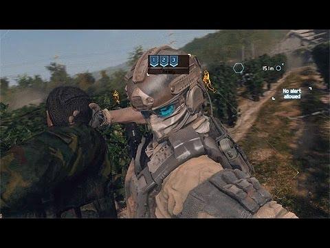 Ghost Recon Future Soldier Campaign