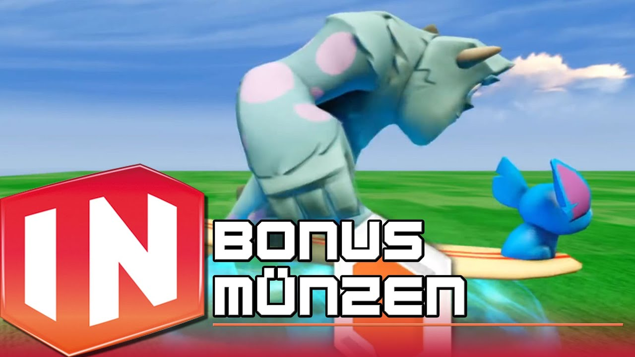 Disney Infinity Bonus Münzen All Platforms Sommer 2013 Youtube
