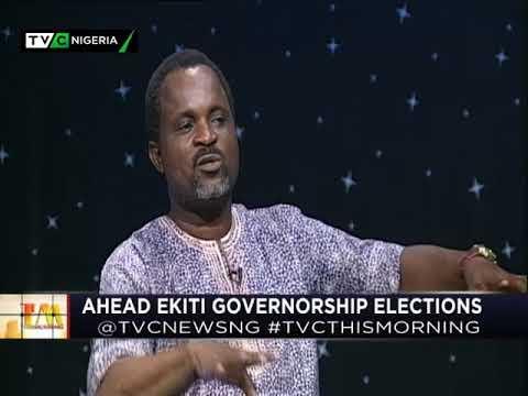 This Morning 18th April 2018 | Ahead Ekiti Governorship Election