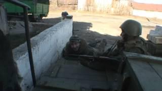 Минометный обстрел ЛНР ополченцы Славяносербск