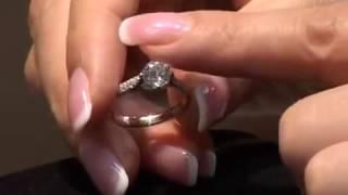 видео обручальное кольцо с бриллиантом цены