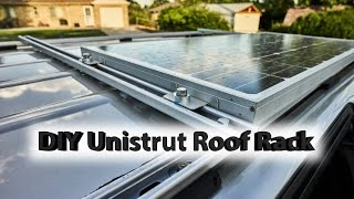 Diy Roof Rack With Solar Panel Honda Odyssey