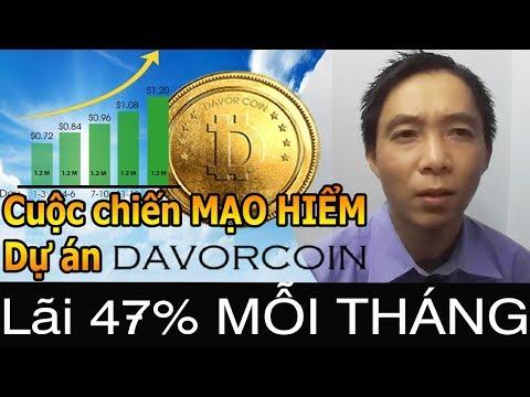 Lãi 47% Cuộc chiến CHO VAY MẠO HIỂM Davor Coin (DAV)  Bui Trung Hieu