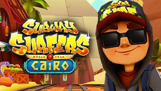 SUBWAY SURFERS GAMEPLAY PC HD 2020 - CAIRO - JAKE DARK OUTFIT SCARAB BOARD