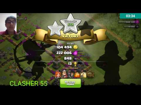 Clash of clans glitch Halloween ver..