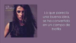 Battlefield - Lea Michele (Subtitulada)