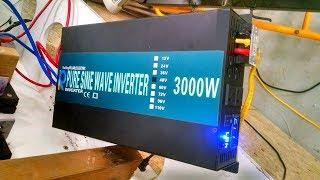 3000 Watt Reliable Electric Inverter, 48 VDC to 120 VAC