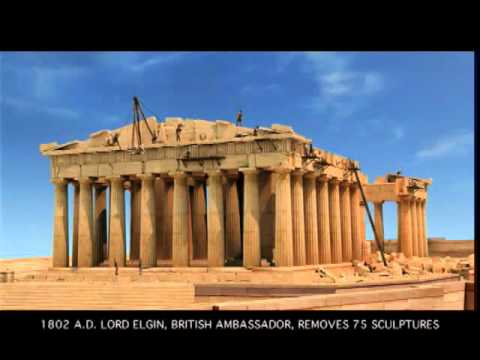The Parthenon through time