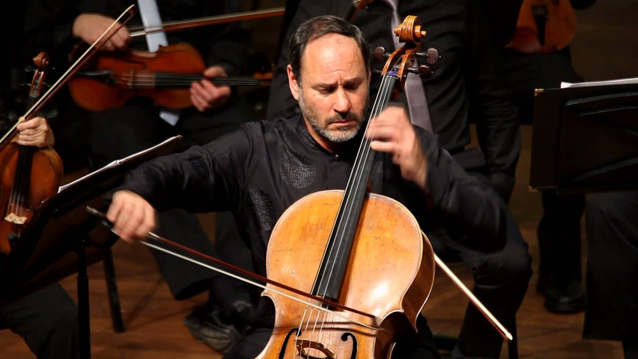 Dvorak cello concerto 2nd mov. Hoffman, Segal, Israel Camerata