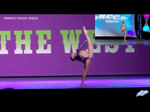 """Kaylee Quinn doing """"Fool me Once"""" by Maddie Ziegler"""