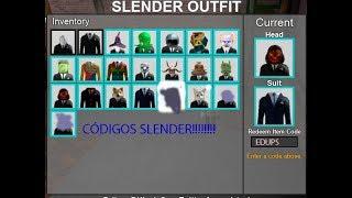 Códigos de Stop it, Slender! 2 (roblox) funcionando 2019!!!