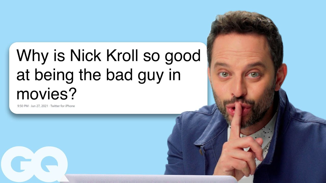 Nick Kroll Goes Undercover on Instagram, Twitter, and Wikipedia | GQ
