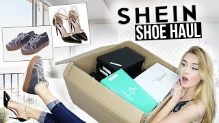 HUGE SHEIN TRY-ON SHOE HAUL | Worth the money?!