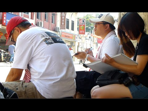 Petaling Street Draws Taiwan Artists!
