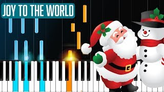 """Joy To The World"" Piano Tutorial - Chords - How To Play - Cover"