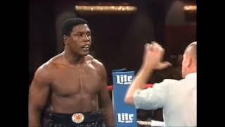 Легендарные бои — Тайсон Бербик 1986   Fightspace