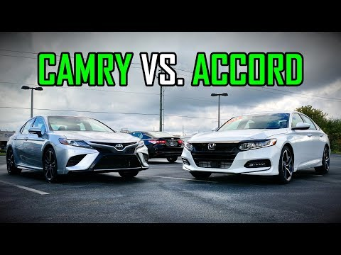 2018 Honda Accord Sport vs. 2018 Toyota Camry SE: Faceoff Co