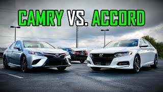 2018 Honda Accord Sport vs. 2018 Toyota Camry SE: Faceoff Comparison