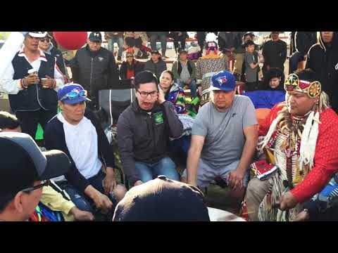 Whitefish Jrs- Saturday Evening Intertribal At Canoe Lake Pow Wow 2019
