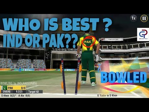 wcc2 India VS Pakistan quick match highlights gameplay don't miss