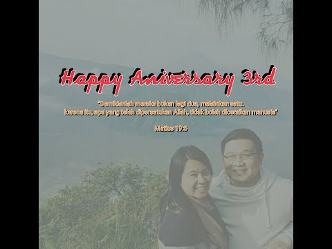 Happy Anniversary 3rd.. Yeayyy!!