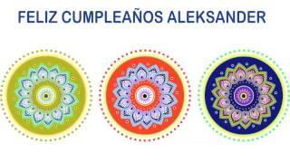 Aleksander   Indian Designs - Happy Birthday