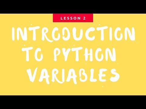 Python Tutorial for Beginners - Python Programming for Beginners (Python Variables) thumbnail
