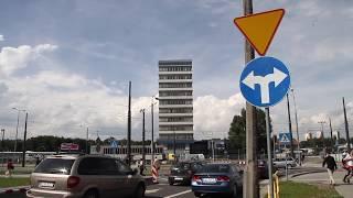 Zamknięte ulice wokół dworca w Olsztynie. Jak radzą sobie kierowcy?