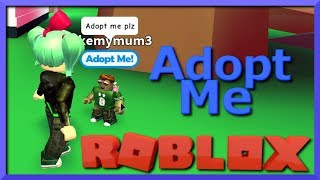 I Adopt a Baby in Roblox (I'm such a BAD MOM!) Adopt Me, New Obby Update! SallyGreenGamer Geegee92
