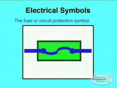 Electronic Symbols & Wiring Diagrams 1 - YouTube