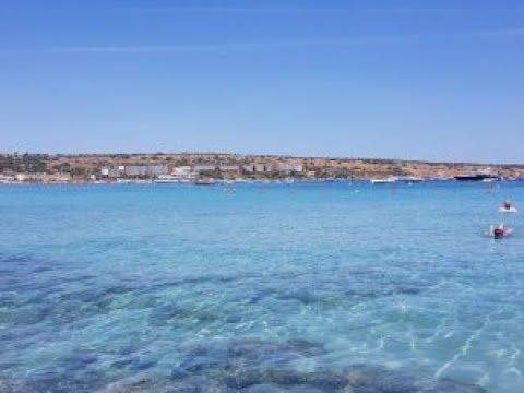 MALTA DAY 1:  MELLIEHA BAY (SOLO TRIP VLOG)