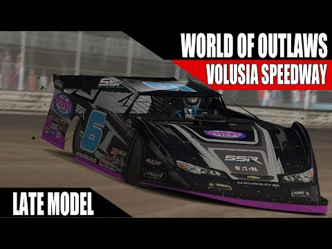 iRacing World of Outlaws Late Model Series @ Volusia Speedway Park R2
