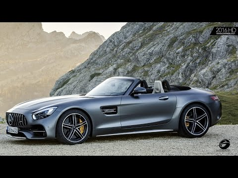 Mercedes AMG GT C Roadster EXTERIOR + INTERIOR DESIGN
