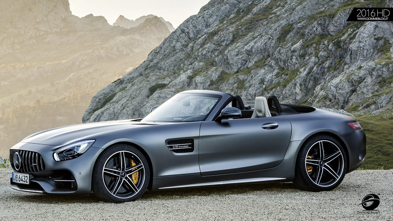 mercedes amg gt c roadster exterior interior design youtube. Black Bedroom Furniture Sets. Home Design Ideas