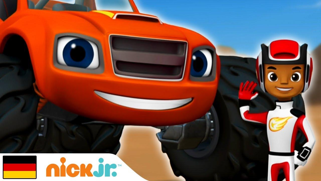 Blaze and the Monster Machines | Freunde finden! | Nick Jr.