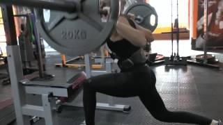 Красивая Тренировка Ног и Ягодичек с Анной Романовой  Steel Life