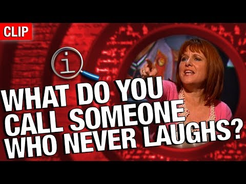 Thumbnail: QI | What Do You Call Someone Who Doesn't Laugh?
