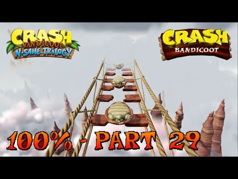 Crash Bandicoot - N. Sane Trilogy - 100% Walkthrough, Part 29: The High Road (Gem)