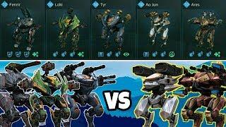 Ragnarok Có Đấu Lại Top Meta Ares & Ao Jun? - New 5.1 Update Skirmish War Robots Việt Nam