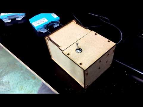 Useless Box (made at FabLab Zürich)