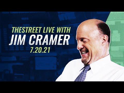 Speculation, Bitcoin, Bezos: Jim Cramer's Stock Market Breakdown - July 20