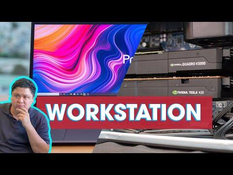 Tin học lớp mầm: Workstation là gì