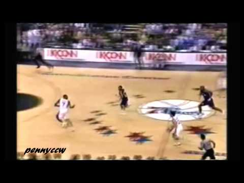 Rookie Allen Iverson: 31pts vs Damon Stoudamire the Raptors 96/97 NBA *Jerry Stackhouse Game Winner